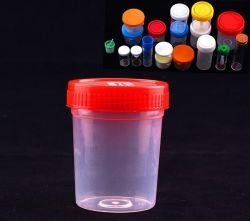 Medizinisches Wegwerfurin-Ansammlungs-Cup/Behälter 30ml/60ml/120ml