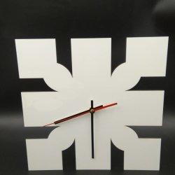 Relógio de MDF por sublimação de tinta para impressão de Transferência de Calor