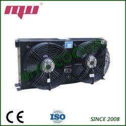 Refroidisseur d'huile hydraulique pour la machinerie de construction avec ventilateur