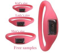 연어를 가진 유행 손목 시계는 착색한다 소맷동 (FW-227)를