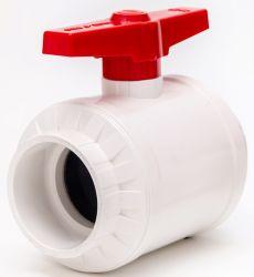 고품질 플라스틱 PVC True Union 나사산 볼 밸브 PVC 암나사 2개 볼 밸브 UPVC 더블 유니언 컴팩트 수동 플랜지 볼 밸브 DIN ANSI JIS