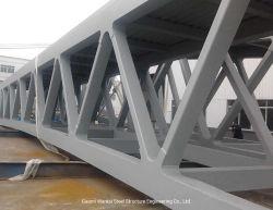 Ferrocarril de acero elegante prefabricadas puente cercha