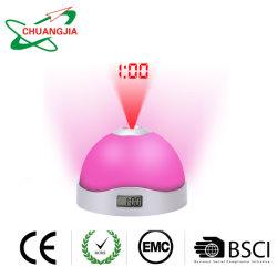 Reloj despertador digital de proyección para dormitorios techo, pared, los niños gran Sleeper altos