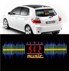 Стикер автомобиля EL выравнивателя автомобиля света ритма СИД активированный звуком