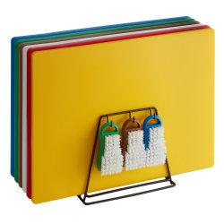Multi عالي الجودة - ألوان قابلة لإعادة الاستخدام مزدوجة - على وجه التحديد 50*35*1.3 سم لوحة قطع بلاستيكية LDPE