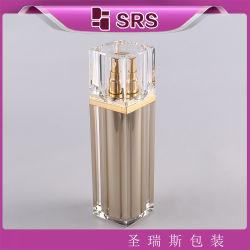 Quadrat 100 ml-luftlose Emulsion-Pumpen-Flaschen
