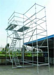 Galvanisé à chaud Layher échafaudage pour la Construction avec certificat TUV