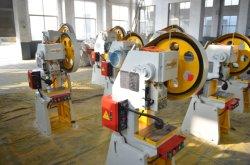 J23 Mecânica lado operado C tipo manivela única prensa elétrica oco e máquina de corte com segurança