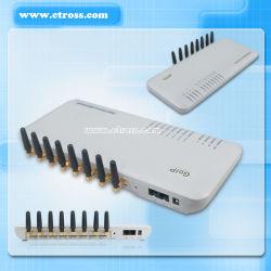 Входной GSM VoIP портов Dbl 8