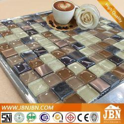 لون القهوة من الفولاذ المقاوم للصدأ والزجاج Mosaic (M823007)
