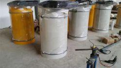 Емкость для сбора пыли из нержавеющей стали в бункере вентиляционный фильтр