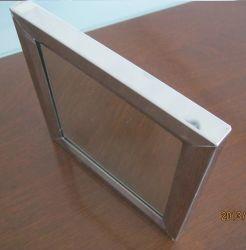 6mm silberner Spiegel mit 25mm Chroom Stailess dem Stahlrahmen