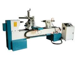 Cnc Wood Turning Lathe Machine Bij Het Maken Van Houten Biljart Cue