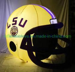 Надувной футбол шлем на Новый год рождественский подарок домой украшения