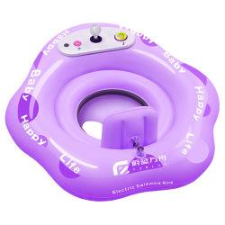 La música de Radio Control Kid Toys Piscina de agua para nadar barco RC Toy atracciones de agua de piscina de flotación de la Ring paseo para niños juguetes de bebé juguetes acuáticos