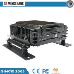Жесткий диск 4 каналов для автомобиля и дистанционного наблюдения DVR для мобильных ПК