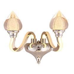 La moderna lámpara de pared de acero inoxidable para el hogar