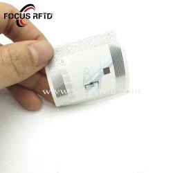 ISO RFID UHF18000-6C papier autocollant inlay RFID /humide pour système d'entrepôt