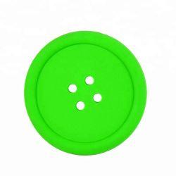 2018의 새로운 디자인 고전적인 형식 둥근 컵 패드 또는 실리콘 컵 매트