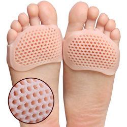 BPA liberano il nuovo rilievo sdrucciolevole respirabile dei pattini del Forefoot di dolore dei piedi dell'alto tallone dei sottopiedi degli accessori dei pattini del silicone anti