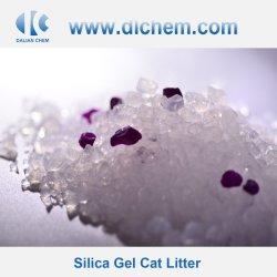 Precios baratos de gel de sílice cristalina arena de gato #03