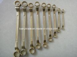 Llave de combinación de aluminio Non-Sparking Sparkless Llave combinada, llave de Fix