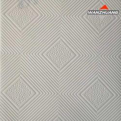 Plaques de plâtre laminé PVC carte avec feuille d'aluminium