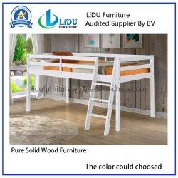 Dernière diapositive Kids lit en bois avec table bookcase/ populaires en bois de pin chambre des enfants un lit simple en bois massif