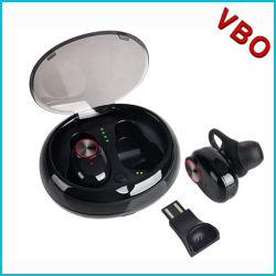 V5 de Tws Bluetooths auriculares auriculares inalámbricos auriculares V4.2 5.0 Auricular con micrófono incorporado con estuche de carga