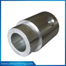 中央機械加工用アルミ / 黄銅 / スチール部品精密 CNC 旋盤加工