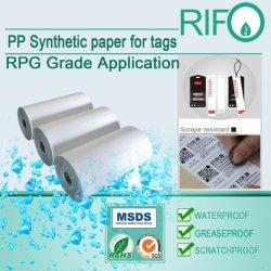 Kratzer-beständige Aufkleber-Aufkleber-Materialien mit RoHS und MSDS