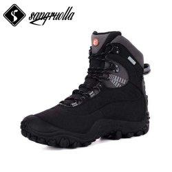Palmilha impermeável com borracha e MD das botas de segurança caminhadas calçado desportivo e o Exército de fabricação de calçados