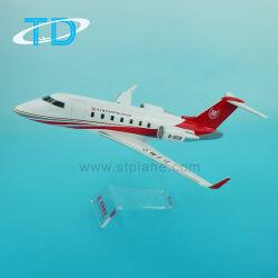 挑戦者605の樹脂の私用航空機モデル