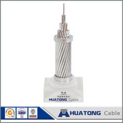 Desnudos de aluminio toldo ACSR Conductor para el uso de la línea de transmisión