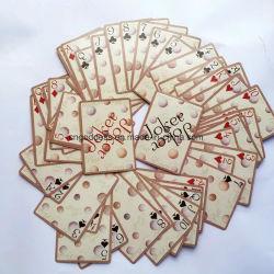 Plastiek de Met een laag bedekte Playingcards/Klant Designes Playingcards/Pook van het Casino
