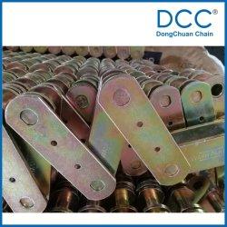 急速冷凍の製品のための黄色い亜鉛プレート・コンベヤの鎖