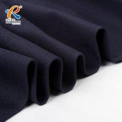 Китай дешевые цены Stocklot растянуть Саржа изполированного ткань98 хлопка 2 спандекс черного цвета