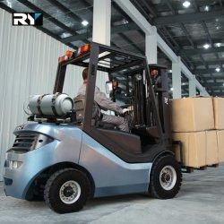 2.0t GPL & carrello elevatore a forcale del combustibile di duello del gas con il motore dei Nissan