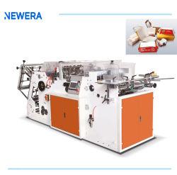 Cheio de papel automático almoço comida caixa Bandeja Carton máquina de formação