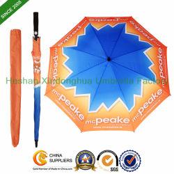 Vendita calda All Over l'ombrello in pieno stampato di golf personalizzato regalo di stampa di scambio di calore di disegno (GOL-0030FA (C))