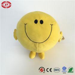La Ronda de peluche amarillo con una sonrisa muñeco de peluche Peluche Juguete Blando