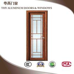 El aluminio puerta de vidrio con diseño personalizado