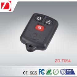Controlo remoto sem fios RF plástico Controller formas personalizadas/frequência/Funções/Botões
