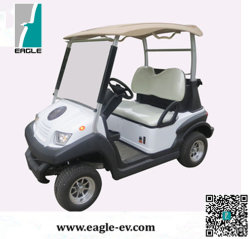 Vierwielig Ce keurde de Nieuwe Ontworpen Elektrische Auto van het Golf met het Frame van de Chassis van het Aluminium goed