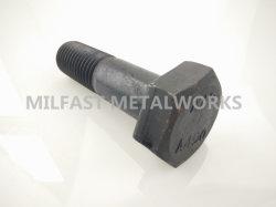 構造重い六角形のヘッド鋼鉄ボルトASTM A490黒い酸化物