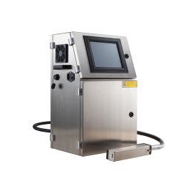 Industrielle beständige Code-Flaschen-Tintenstrahl-Drucken-Maschine