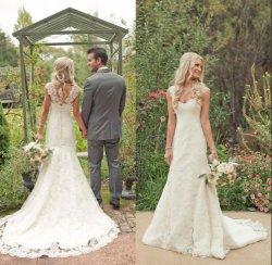 De Kokers van GLB rijgen de Bruids Kleding A van het Huwelijk - de Toga W16225 van het Huwelijk van de lijn