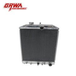 Radiador de alumínio para Honda Civic 92-00 em 2 linhas