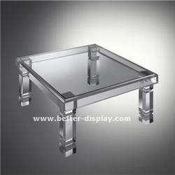 Pieds de table en acrylique personnalisé pour le mobilier