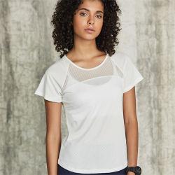De naar maat gemaakte T-shirt van de Sporten van de Polyester van het Merk Droge Geschikte